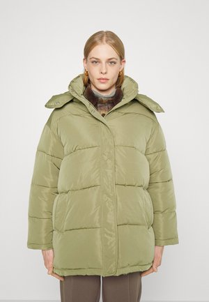 WINTER BASIC - Winter coat - aloe