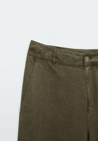 Massimo Dutti - RELAXED-FIT - Trousers - green - 2