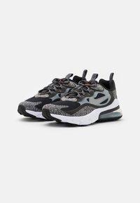 Nike Sportswear - AIR MAX 270 REACT MTF BG UNISEX - Sneakers - black/light smoke grey/smoke/white - 1