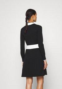 HUGO - SUMERY - Obleka/pulover - black - 0