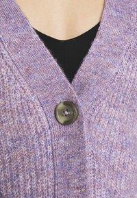 JDY - JDYDREA - Cardigan - lavender gray melange - 7
