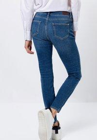 zero - Jeans Skinny Fit - mid blue stone wash - 2