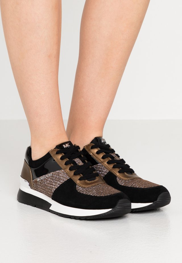 ALLIE TRAINER - Sneaker low - bronze