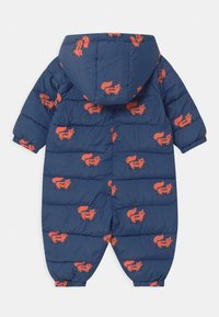 TINYCOTTONS - FOXES PADDED ONE-PIECE - Combinaison de ski - light navy/sienna - 1