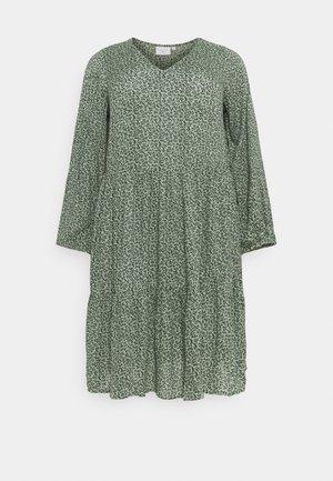 KCLINEA - Day dress - hedge green