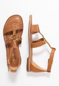 MICHAEL Michael Kors - PIPER FLAT - Sandals - acorn - 3