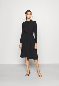 Lauren Ralph Lauren - TRIPLE GEORGETTE DRESS - Day dress - polo black - 1