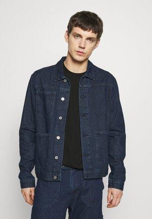 DRAKE WORKET JACKET - Džínová bunda - indigo blue