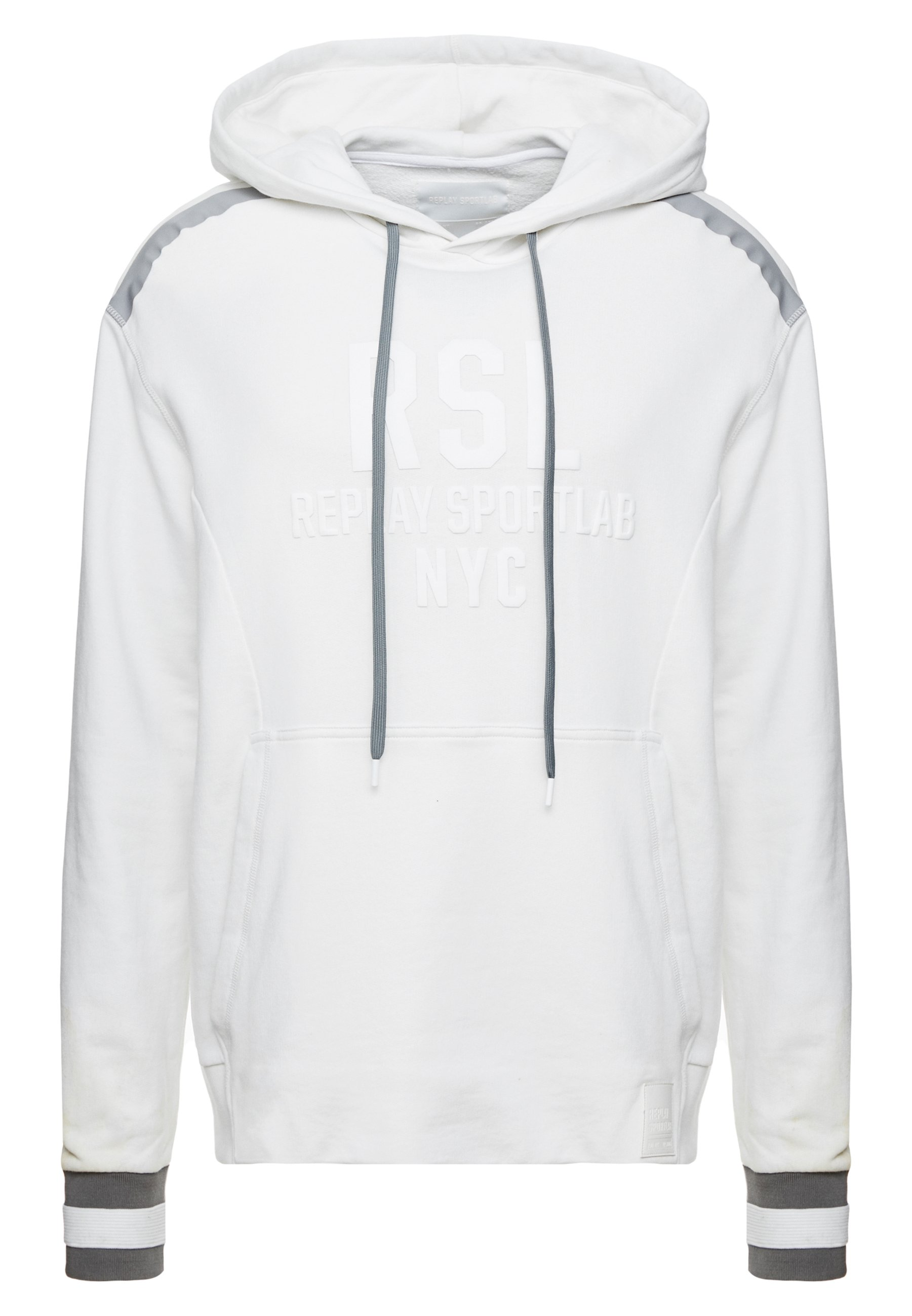 Replay Sportlab Sweat à capuche - white
