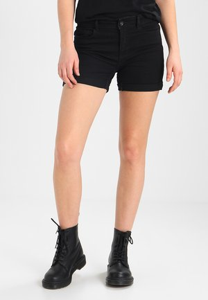 VMHOT  - Denim shorts - black