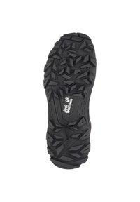 Jack Wolfskin - DOWNHILL TEXAPORE - Hiking shoes - black / grey - 4