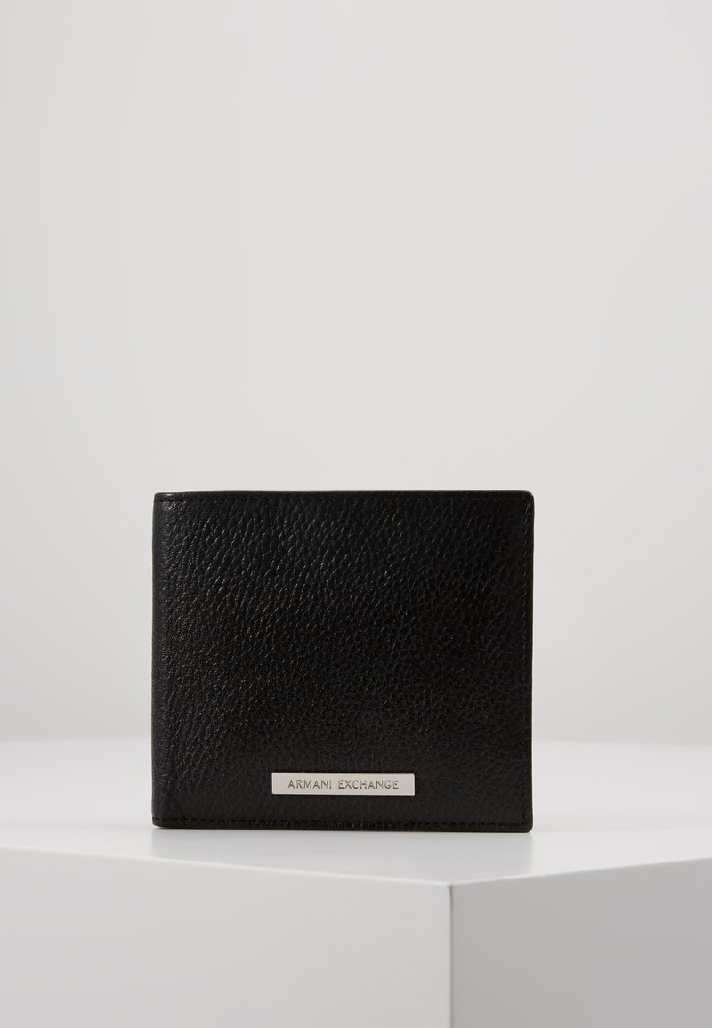 Armani Exchange - BIFOLD - Lompakko - black