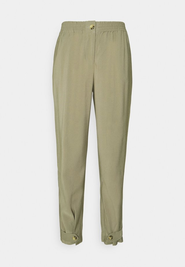 FRANCINE ANKLE PANTS - Chinos - covert green
