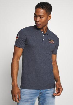 JORBADGE POLO  - Piké - navy blazer