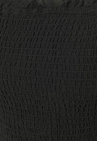 Dorothy Perkins - SHEERED BRODARIE DRESS - Denní šaty - black - 2