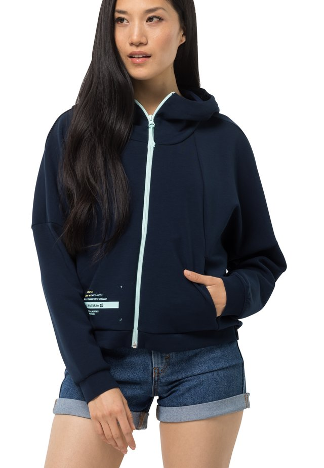 STARBOARD - Zip-up hoodie - midnight blue