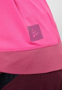 Craft - HALE - T-Shirt print - pink - 5