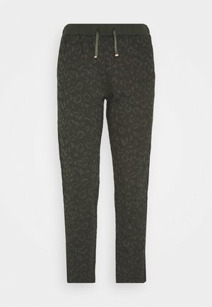 PANT - Tracksuit bottoms - laurel green met