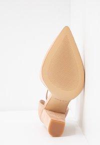 ALDO Wide Fit - NICHOLES WIDE FIT - High heels - rugby tan - 6