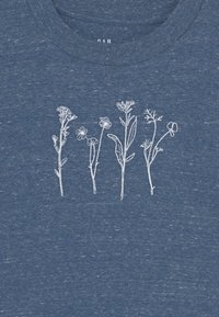 GAP - Long sleeved top - blue heather - 2