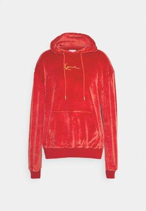 SMALL SIGNATURE HOODIE UNISEX  - Sweatshirt - dark red