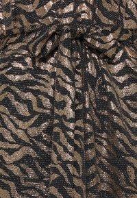Ilse Jacobsen - DRESS SHORT - Cocktail dress / Party dress - platin/black - 2