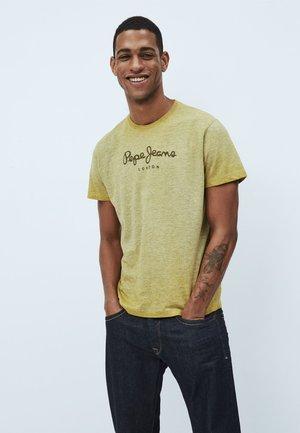 DON - Print T-shirt - colemans gelb