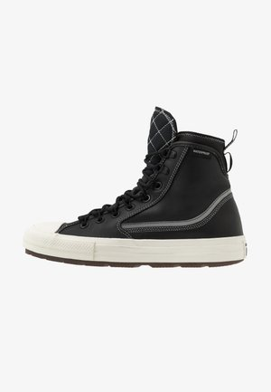CHUCK TAYLOR ALL STAR TERRAIN UTILITY - Korkeavartiset tennarit - black/egret
