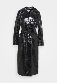 MARINA CROC - Trenchcoat - black