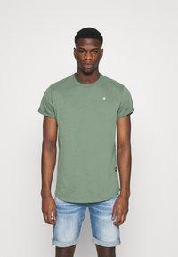 G-Star - LASH - Basic T-shirt - teal grey - 0