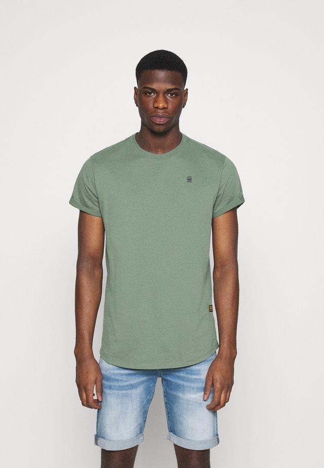 LASH - Basic T-shirt - teal grey