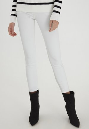 Trousers - bright white