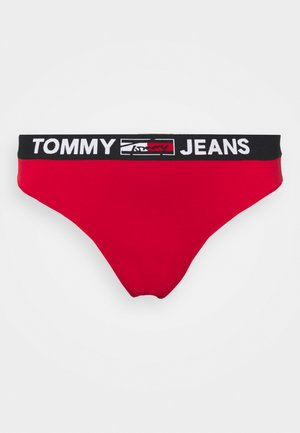 THONG CURVE - Perizoma - primary red