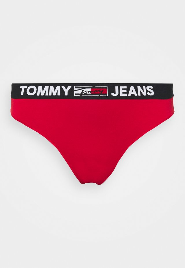 THONG CURVE - Tanga - primary red