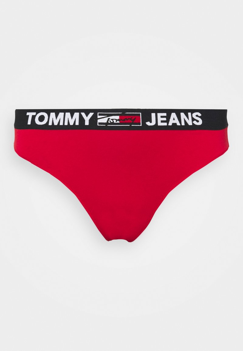 Tommy Hilfiger - THONG CURVE - Thong - primary red