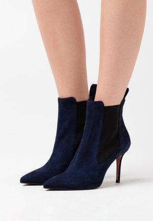 LUISA  - High heeled ankle boots - night shade