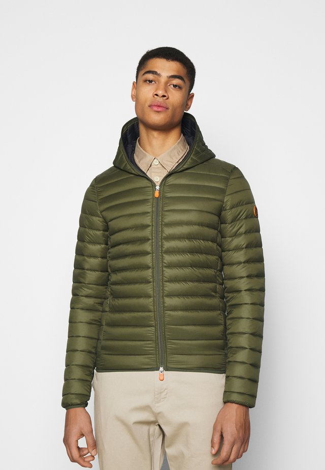 DONALD HOODED JACKET - Jas - dusty olive