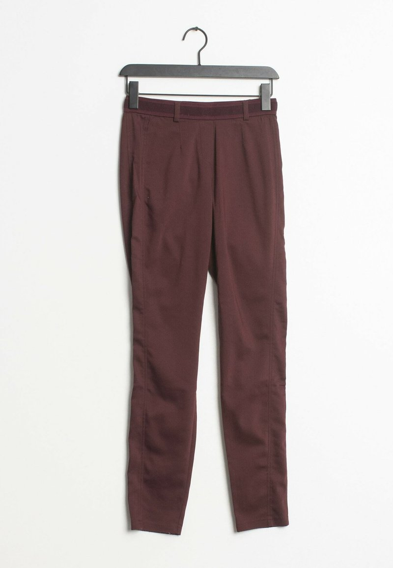 comma - Trousers - red
