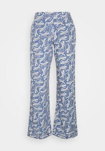 BANGALI PANTALON - Pyjamabroek - bleu