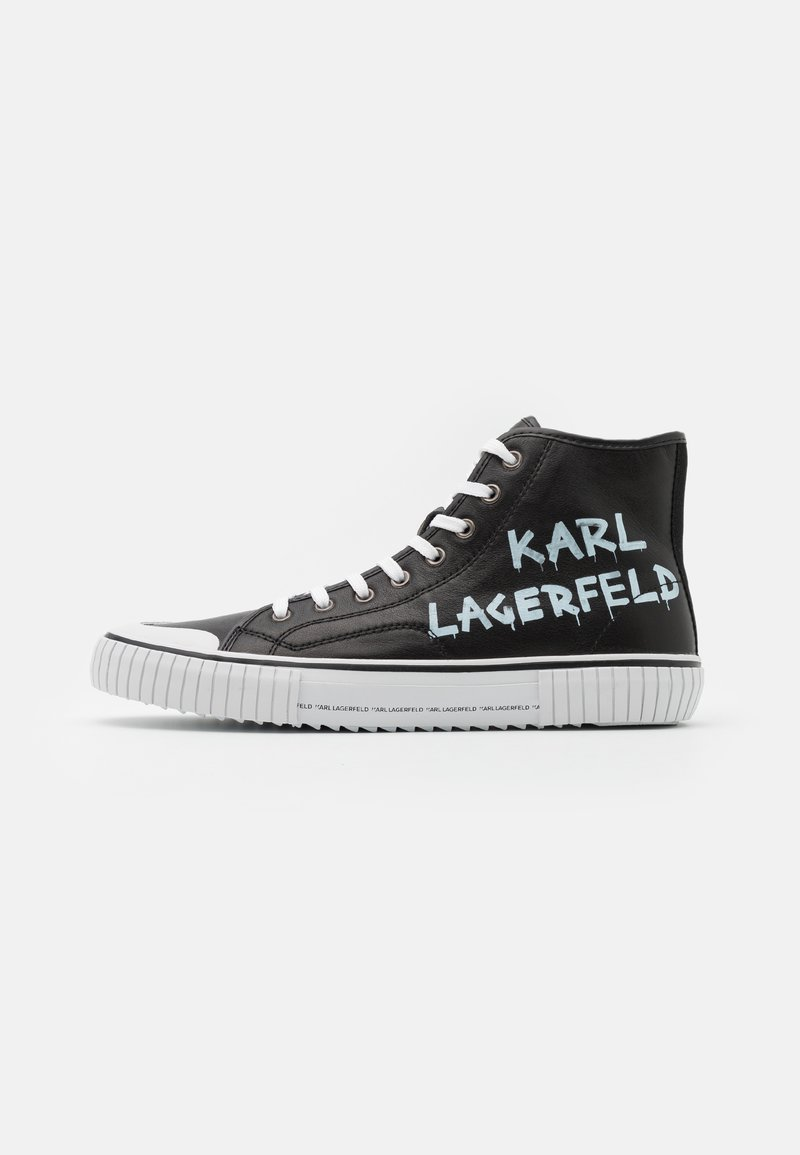 KARL LAGERFELD - KAMPUS BRUSH LOGO - Zapatillas - black