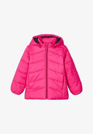 NMFMABAS - Winter jacket - fuchsia purple