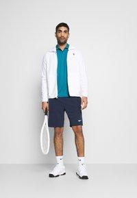 Nike Performance - DRY TEAM - Funkční triko - neo turquoise/white - 1