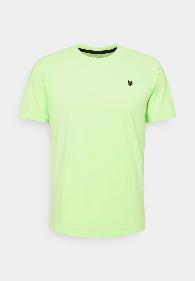 HYPERCOURT CREW  - T-shirts basic - soft neon green