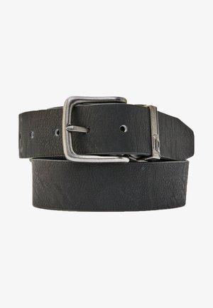 KUNSTLEDERGÜRTEL MIT METALLSCHNALLE - Cintura - black