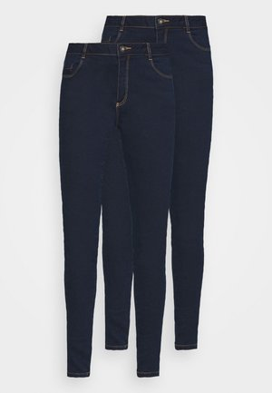 ELLIS 2 PACK - Skinny džíny - indigo