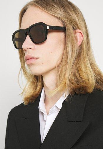 UNISEX - Occhiali da sole - black/black/brown