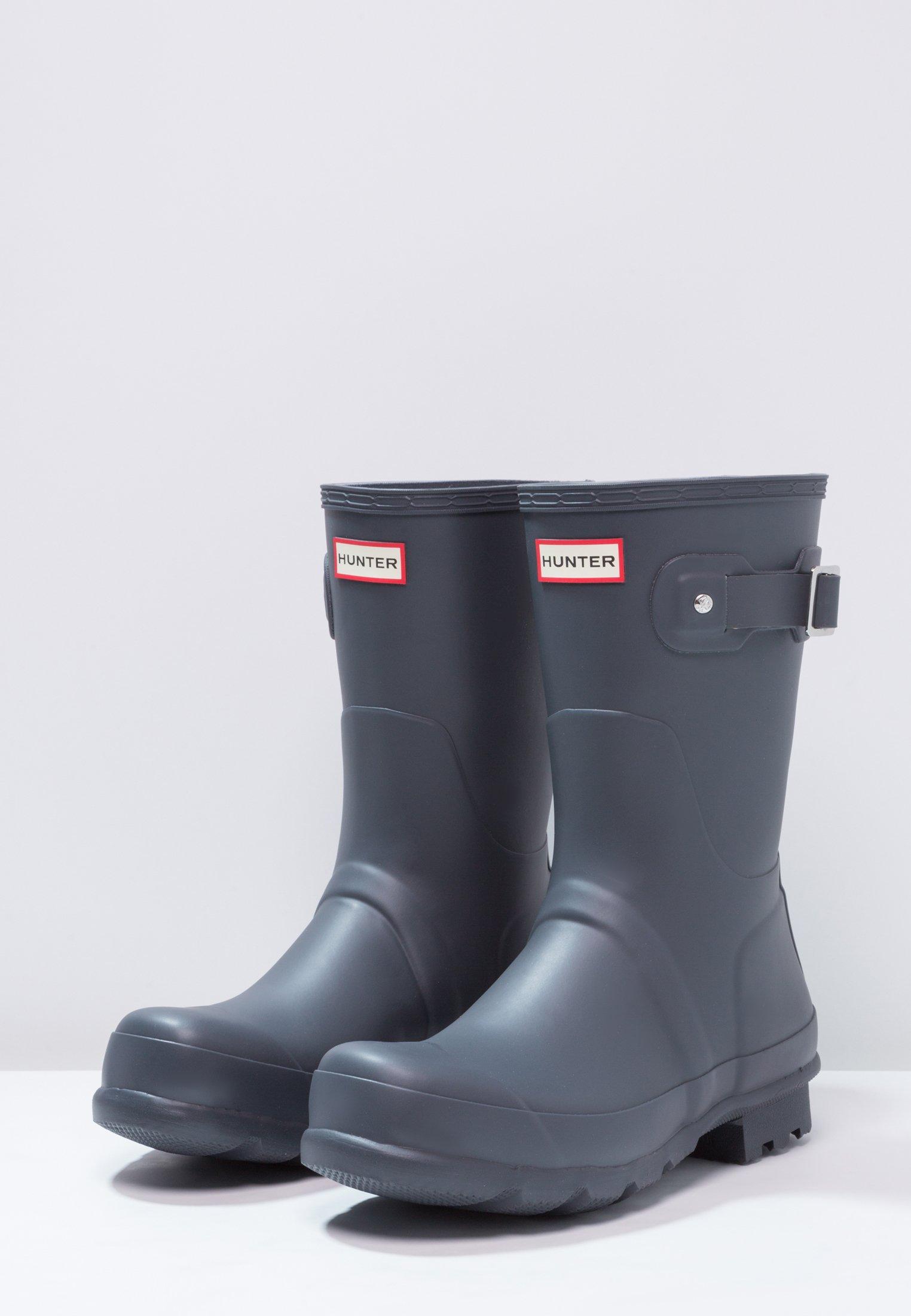 Estilo De Moda Calzado de hombre Hunter ORIGINAL ORIGINAL SHORT Botas de agua dark slate 8Cj0VF