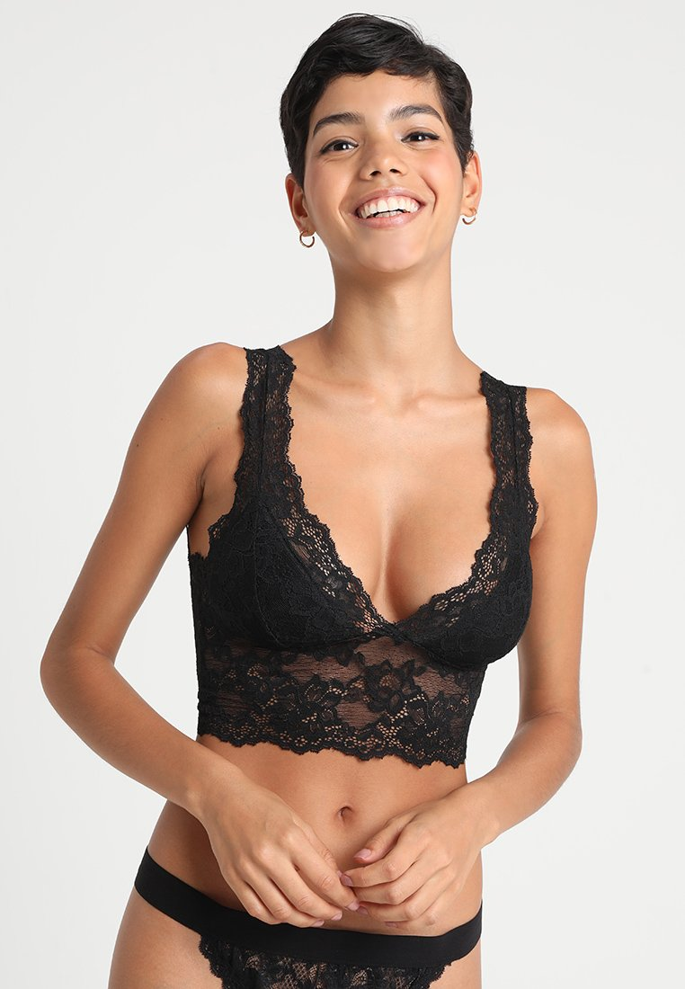 Pieces - PCLINA BRA - Topp - black