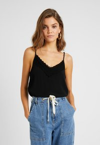 Pieces - PCNAJA SLIP TOP D2D - Top - black - 0