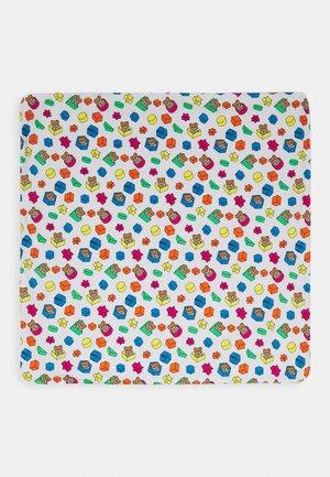 BLANKET ADDITION UNISEX - Dětská deka - white toy geometric